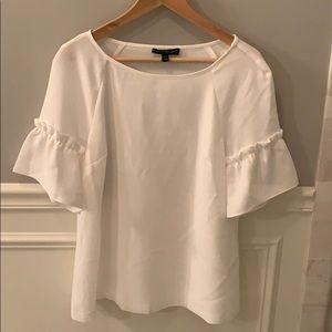 Bell-sleeved blouse